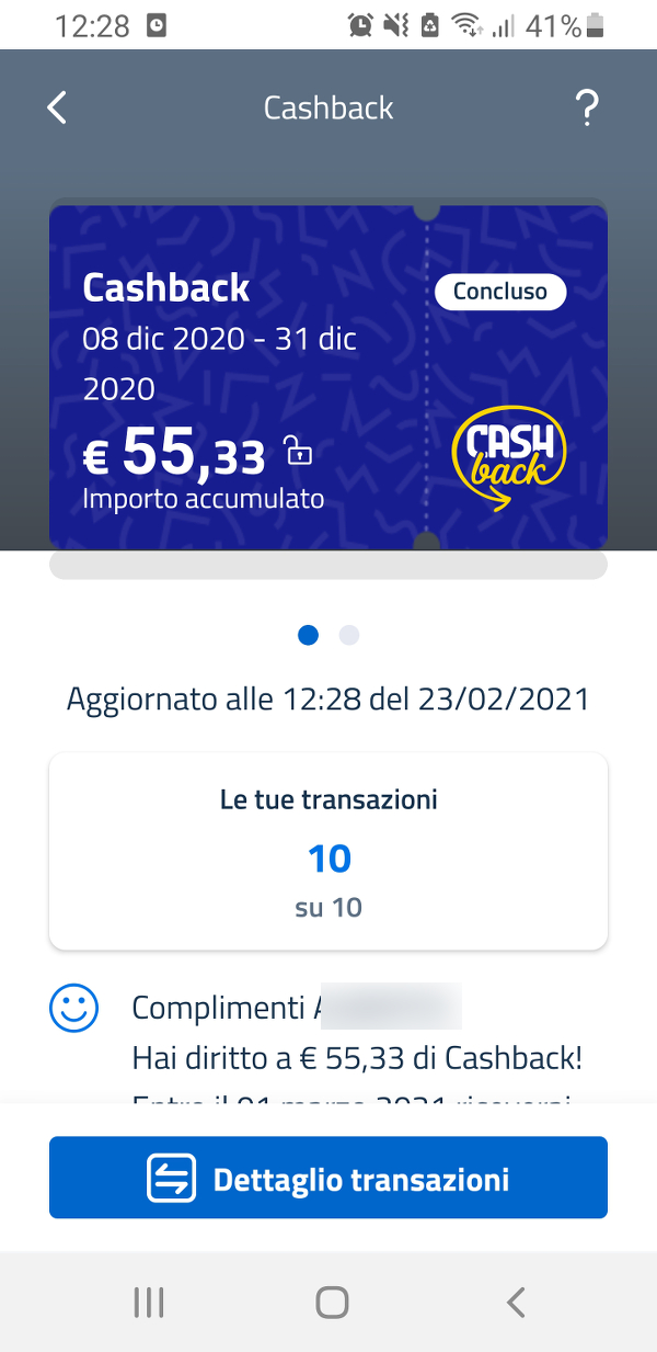 IO Cashback