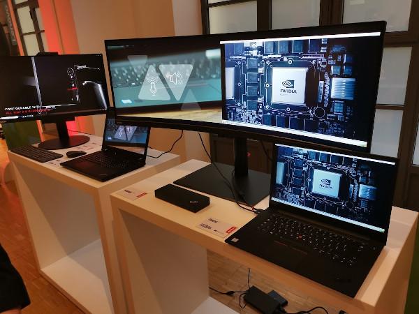 Lenovo ThinkBook 13s e ThinkVision P44w