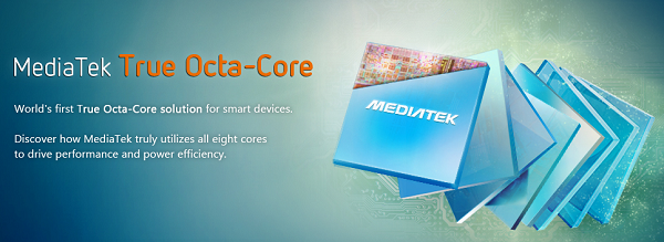 Mediatek MT6592 octa-core
