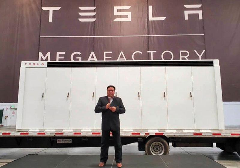 Tesla Megafactory