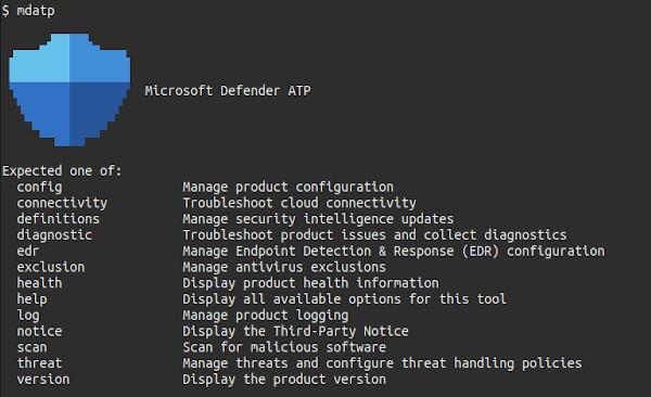 Microsoft Defender ATP per Linux