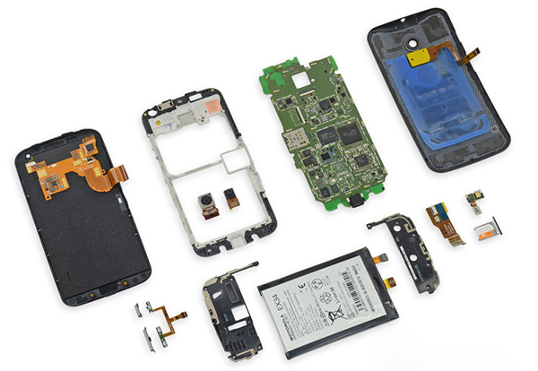 Motorola Moto X internal teardown