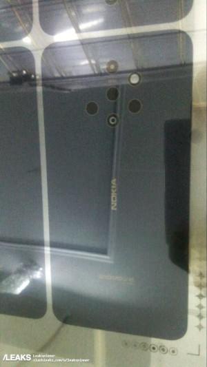 Smartphone Nokia con 5 fotocamere