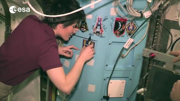 Samantha Cristoforetti ISS
