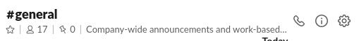 Riunioni virtuali su Slack