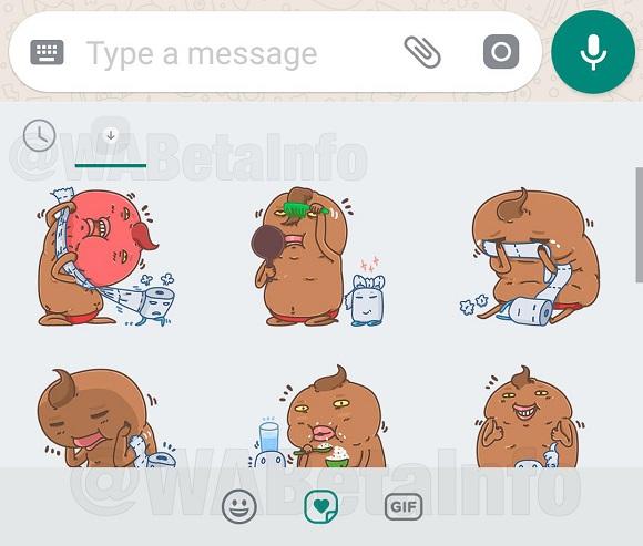 Fra le mode che abbraccerà WhatsApp ci sarà anche quella degli sticker,  sostanzialmente grosse emoji che hanno lo scopo di trasmettere empatia in  diverse