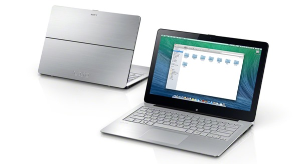 Sony Vaio Mac-compatibile OS