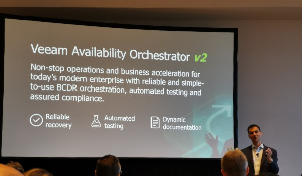Veeam Availability Orchestration v2