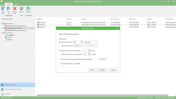 Veeam Backup for Office 365