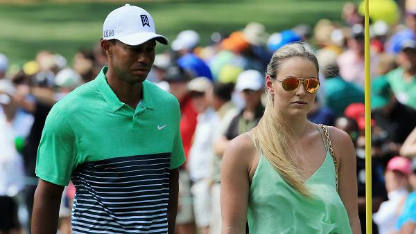 Lindsey Vonn e Tiger Woods