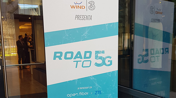 Wind Tre Road to 5G