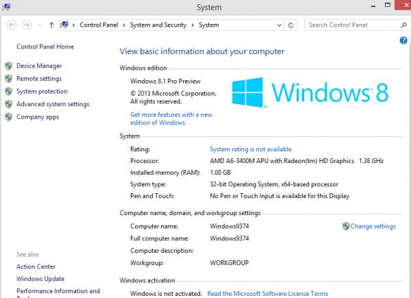 Microsoft Windows 8.1 con modalità Kiosk | Hardware Upgrade