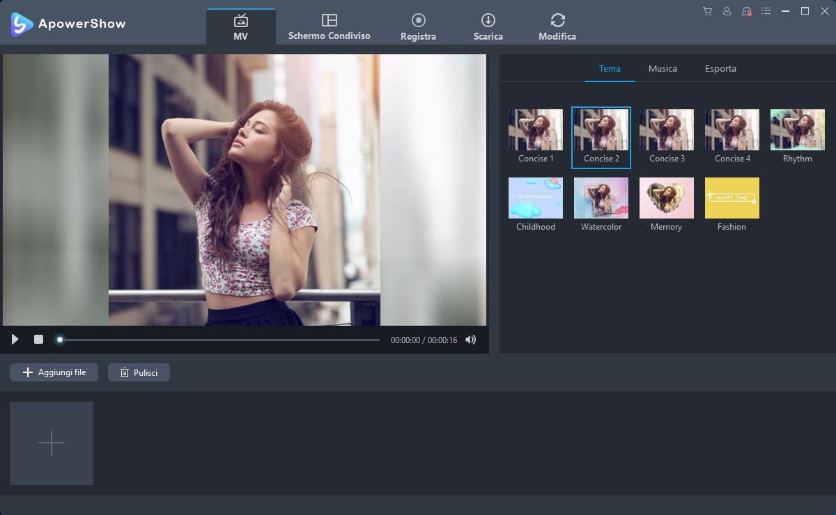 Apowershow un software semplicissimo per slideshow di for Software per rendering