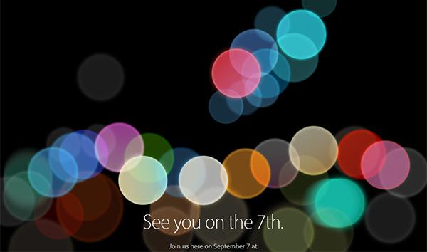 Apple, dove seguire l'evento del 7 settembre