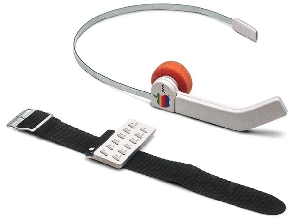 Concept del 1984 di uno smartwatch Apple