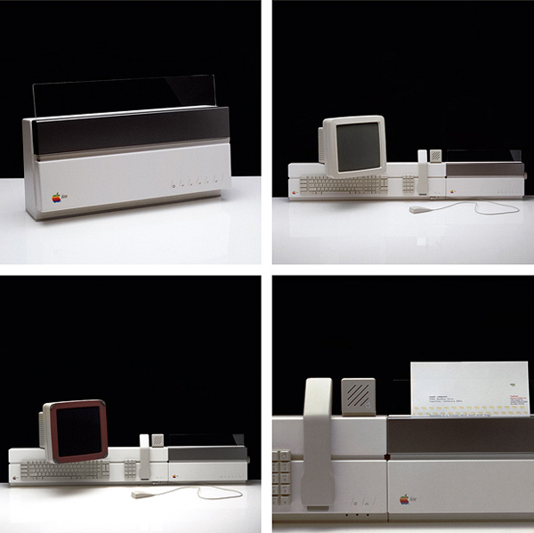 Apple concept del 1984, workstation basata su Lisa