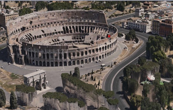 Apple Maps, Colosseo
