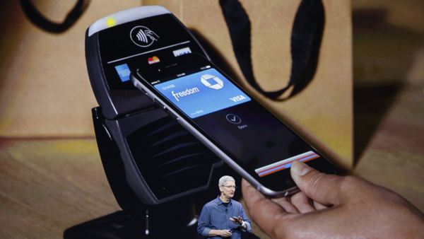 Tim Cook presenta Apple Pay