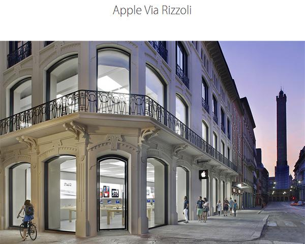 Negozio Apple a Bologna