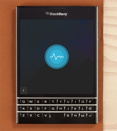 BlackBerry Assistant su Passport