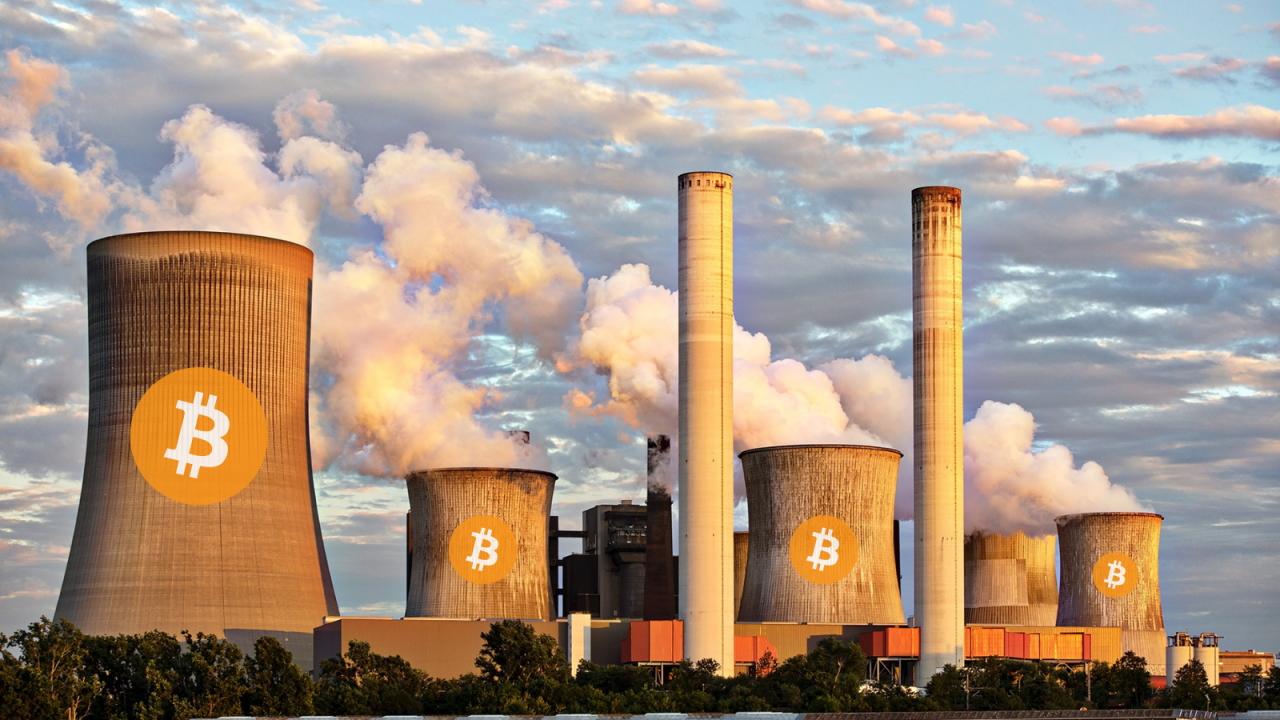 Società di Bitcoin acquista una centrale elettrica e brucia 600.000 tonnellate di rifiuti di carbone