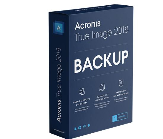 Uno sguardo a Acronis True Image 2018: non solo backup ma un