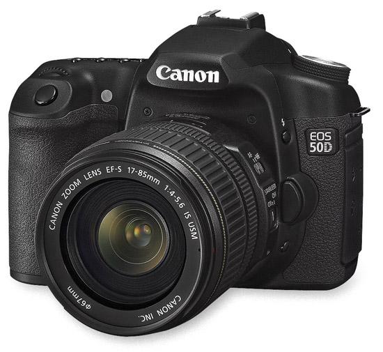 15,1MP per la Canon EOS 50D