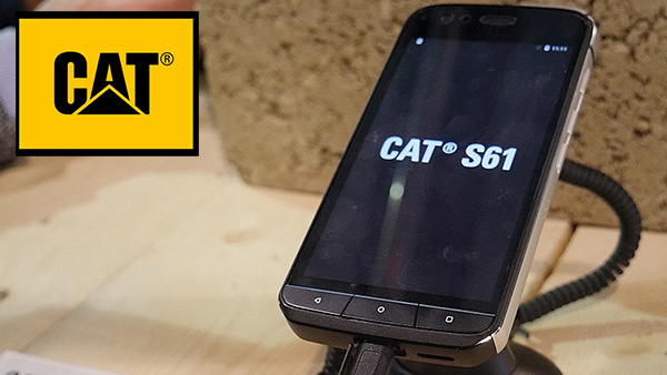 Cat S61 Ecco Dal Vivo Il Telefono Che Ti Avvisa Se Laria