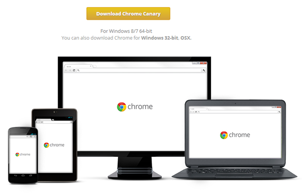 Google Chrome Canary, 64-bit
