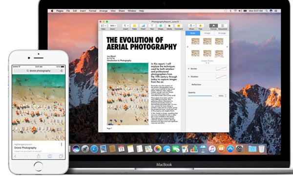 Non solo cellulari, le novità di macOS Sierra