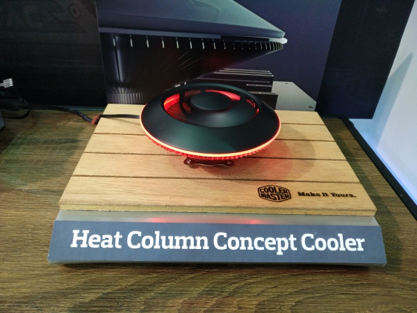 Cooler Master Heat Column Concept Cooler