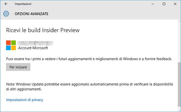 Come installare Windows 10 Anniversary Update+