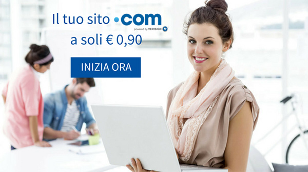 Dominio .com a 0,90 centesimi con Register.it