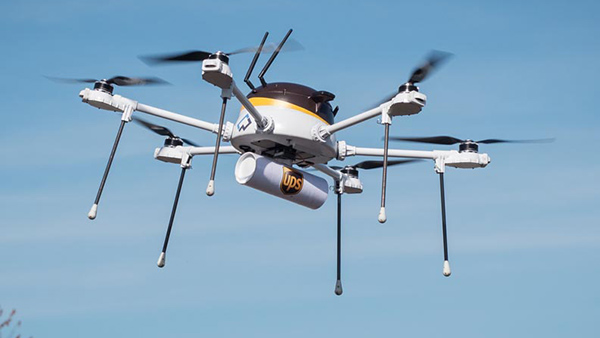Drone CyPhy per UPS