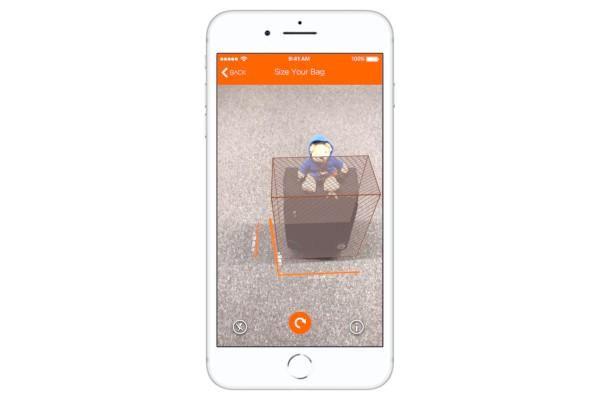easyJet misura il bagaglio a mano con la realtà aumentata