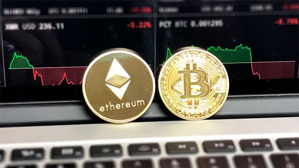Criptovalute Ethereum Bitcoin computer