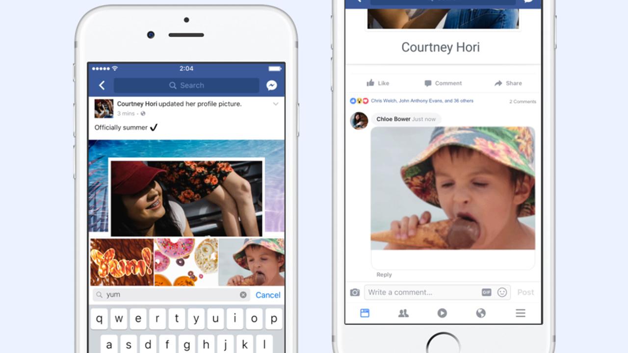Le Gif compiono 30 anni e conquistano Facebook
