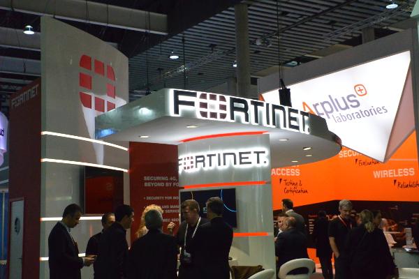 Fortinet Stand WMC 2019