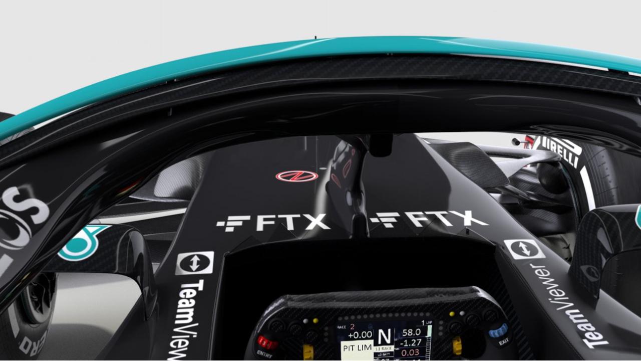 FTX con Mercedes F1
