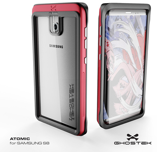 Samsung Galaxy S8 con cover Ghostek
