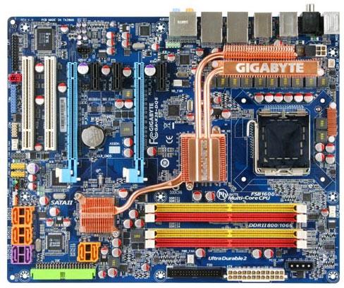 MB X38 e DDr2 da Gigabyte
