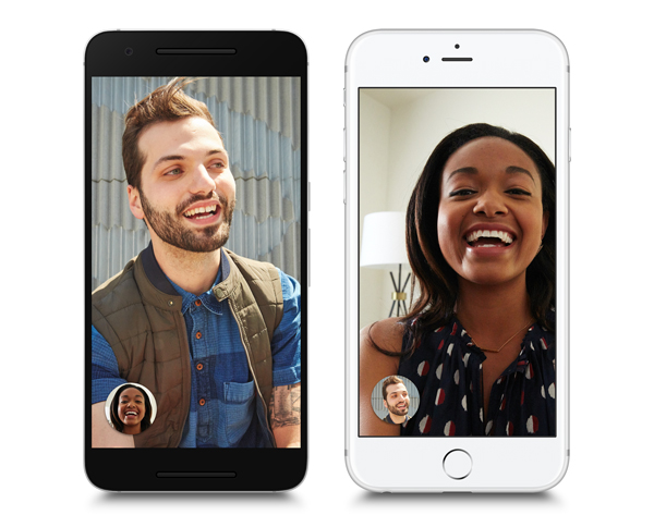 Google Duo disponibile sul Play Store e Apple Store