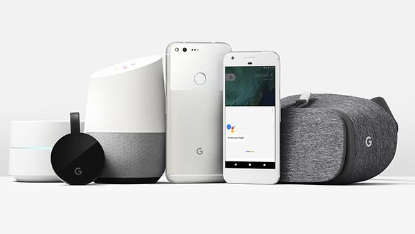 Google, nuova famiglia di prodotti hardware