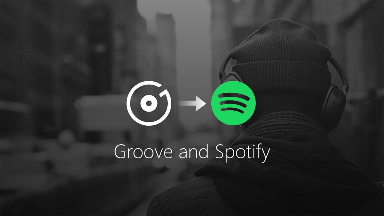 Microsoft chiude il suo Groove Music e stringe un accordo con Spotify