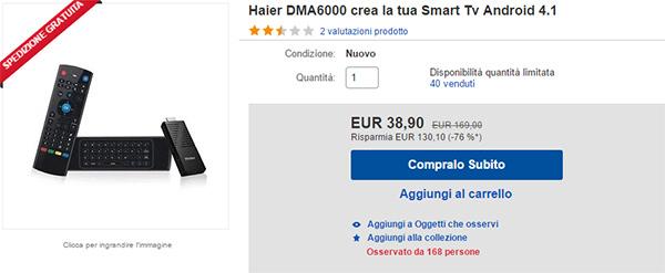Haier DMA6000, compralo al miglior prezzo online
