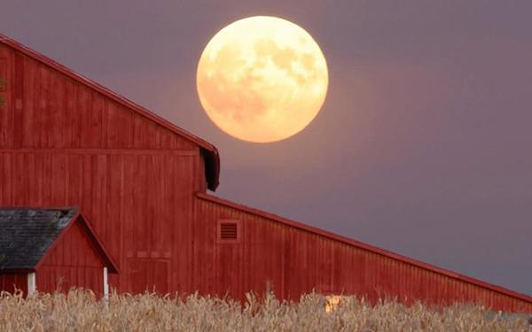 Stasera parte della luna sarà in penombra: arriva l'eclissi lunare penombrale