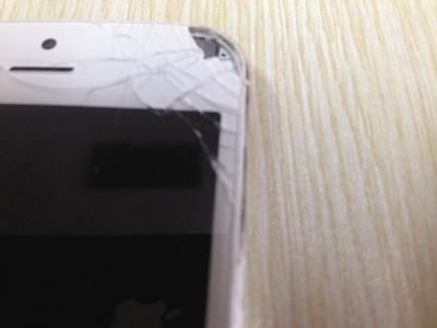 iPhone 5 Cina vetro esploso