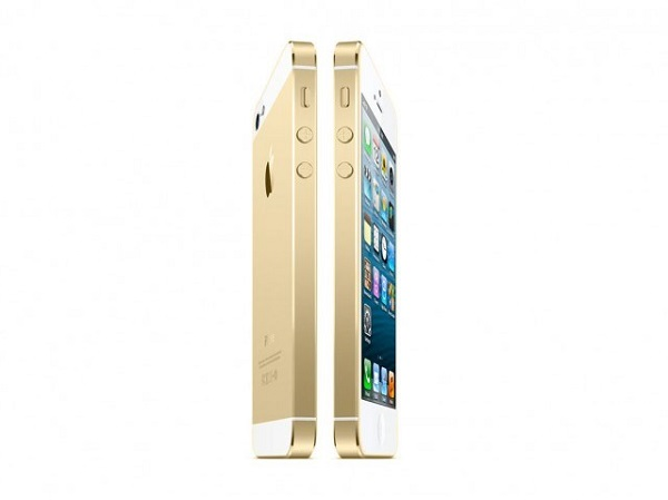 iPhone 5S colore champagne