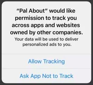 iOS 14 app tracking