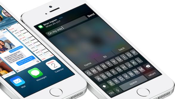 iOS 8, notifiche interattive